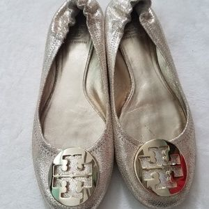Authentic Tory Burch flat shoes size 9.5